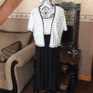 Dress w/ Shrug Size 18